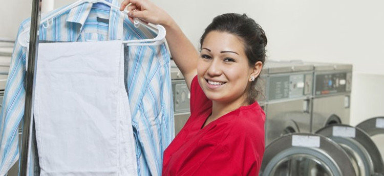 Easy Wash and Fold Commercial Laundry